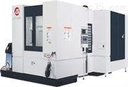精密高速直CNC数控联主轴卧式加工中心铣床