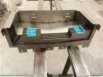 不锈钢板机床导轨伸缩护板