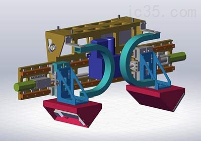 钢轨轮廓检测装置