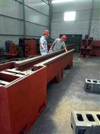 机床铸件 大型灰铁树脂砂床身铸件
