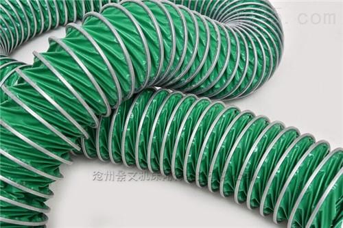 绿色三防布阻燃伸缩风管厂家供应价