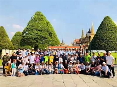 格勒玛数控6天泰国游 欢声笑语精彩不断