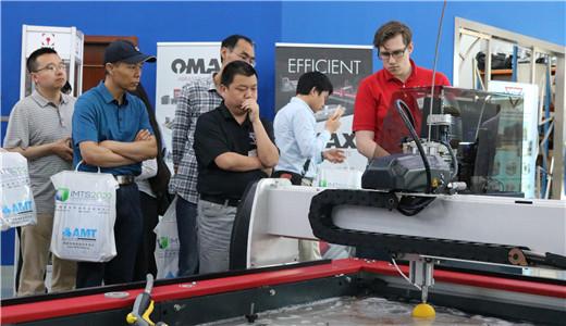 走近美国OMAX 观水刀切割创无限可能