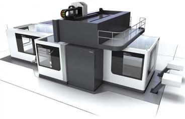 延時拍攝,135秒帶你看完,德瑪吉大型機床安裝調試過程