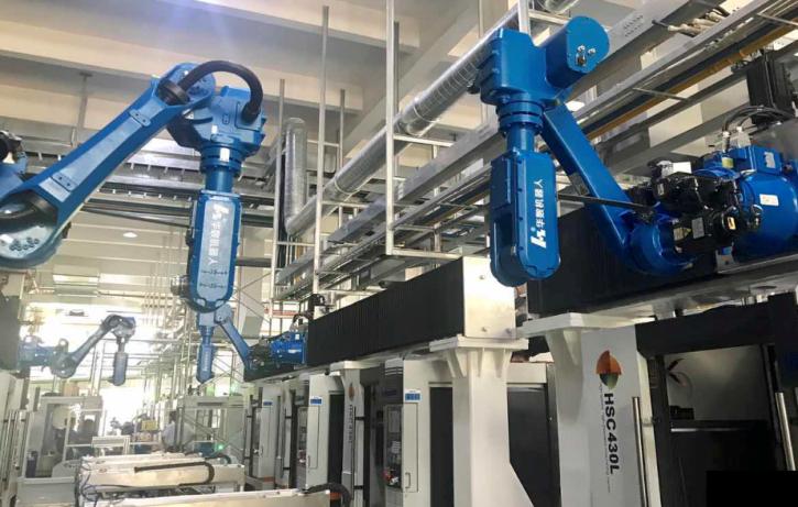 伺服调试软件在某机器人自动化生产线应用